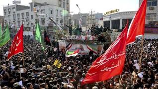 35 Orang Meninggal Terinjak dalam Pemakaman Jenderal Iran