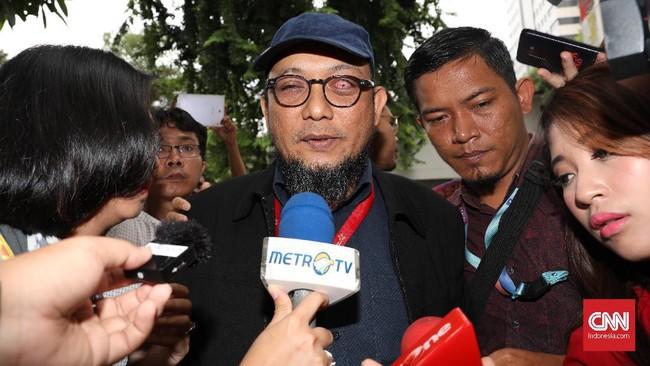 KPK Dilemahkan, Novel Titip Kapolri Awasi Korupsi Internal
