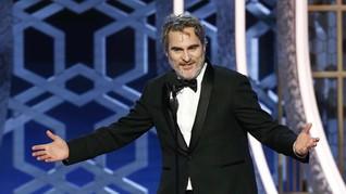 Sumpah 'Joker' Tak Bakal Pernah Ganti Baju Saat Hadiri Awards