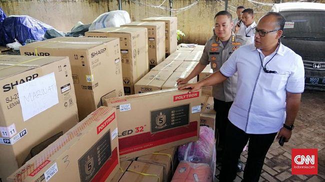 Polisi meminta anggota investasi bodong Memiles untuk mengembalikan hadiah yang didapatnya karena barang-barang itu berasal dari uang anggota lain.