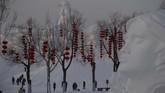Festival Es dan Salju Harbin digelar sejak 25 Desember 2019 sampai 25 Februari 2020.