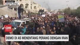 VIDEO: Demo di AS Menentang Perang dengan Iran