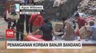 VIDEO: Penanganan Korban Banjir Bandang Lebak