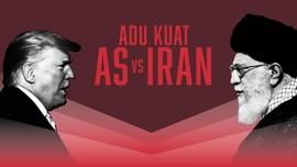 INFOGRAFIS: Adu Kuat AS Vs Iran