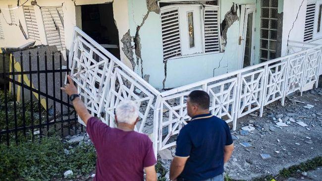 Puerto Rico kembali diguncang tiga gempa susulan pada Selasa (7/1) petang dengan magnitudo 6,0 hingga 6,6.