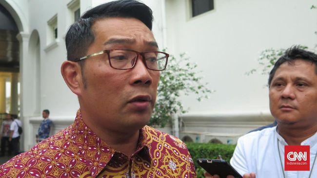 Soal masuk bursa capres versi anak muda, Gubernur Jabar Ridwan Kamil mengaku tak memakai buzzer dan tetap menganggap saingan sebagai mitra.