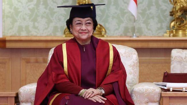 Terkait pengangkatan Ketum PDIP Megawati Soekarnoputri sebagai profesor kehormatan, Kemendikbudristek menyebut tak ada gelar semacam itu.