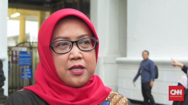 Bupati Bogor Ade Yasin usai mengikuti rapat di Kompleks Istana Kepresidenan Jakarta, Rabu (8/1).