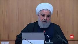 VIDEO: Presiden Iran Tegaskan Tak Akan Mundur Hadapi AS