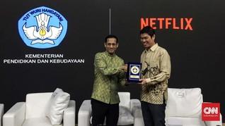 KPI Kritik Nadiem Pilih Netflix daripada Kreator Dalam Negeri