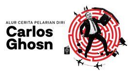 INFOGRAFIS: Alur Cerita Pelarian Diri Carlos Ghosn