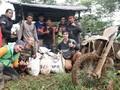 Komunitas Motor Trail Terabas Bogor Bantu Korban Banjir