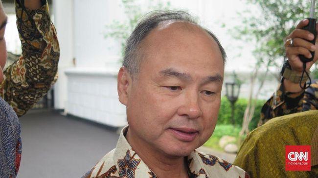 CEO Softbank Masayoshi Son mengaku belum menentukan nilai investasi untuk ibu kota baru RI.