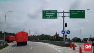 Menjajal Tol Bakauheni-Palembang