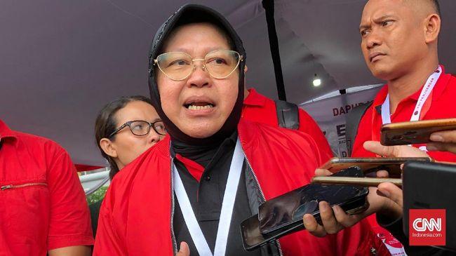 Ketua DPP PDI Perjuangan, Tri Rismaharini, bakal menjadi jurkam pasangan Eri Cahyadi-Armuji pada Pilkada Surabaya 2020.