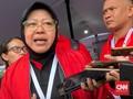 Risma Klaim Surabaya Berstatus Zona Hijau Covid-19