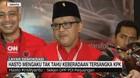 VIDEO: Hasto Mengaku Tak Tahu Keberadaan Tersangka KPK