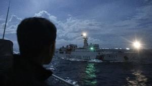 Filipina Marah Kapal China Ganggu Patroli di LCS