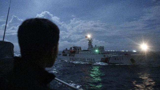 Bakamla RI mengusir kapal China yang berkeliaran di zona eksklusif ekonomi Indonesia, Laut Natuna Utara, pada Sabtu (12/9).