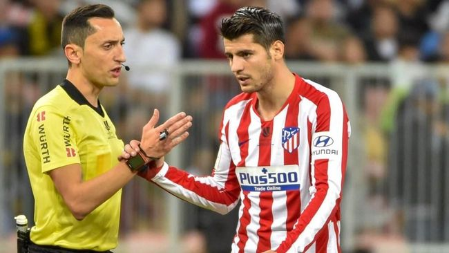 Atletico Madrid menawarkan peminjaman Alvaro Morata ke Juventus setelah sedikit lagi mendapatkan Luis Suarez dari Barcelona.