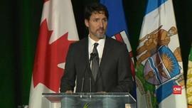 VIDEO: PM Kanada Tuntut Keadilan Tragedi Pesawat Ukraina