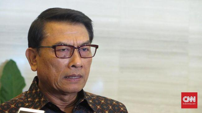 Kepala Staf Kepresidenan Moeldoko di Kantor Staf Presiden, Kompleks Istana Kepresidenan Jakarta, Selasa (14/1).