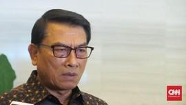 Moeldoko Respons Kabar Reshuffle: Yang Tahu Hanya Presiden