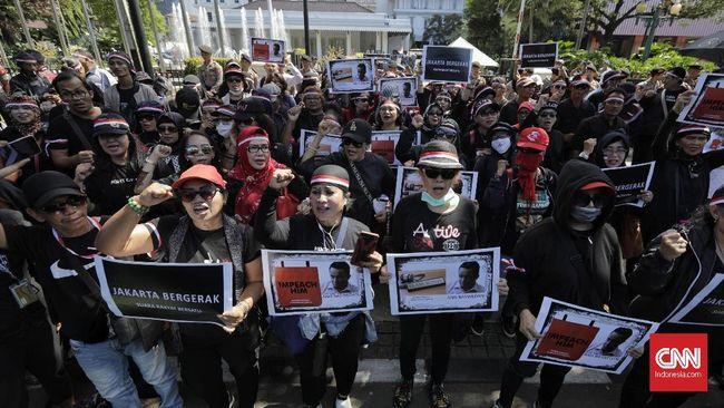 Demo Anies Di Balkot Jakarta Bergerak Disekat Bang Japar