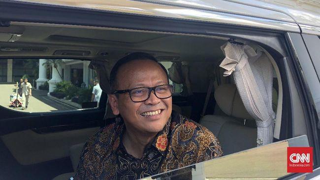 Menteri KKP Edhy Prabowo mengatakan yang terlihat di ZEE Indonesia di Natuna hanya kapal penjaga pantai China.