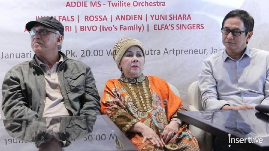 Iwan Fals Hingga Addie MS Siap Meriahkan Konser Ivo Nilakreshna