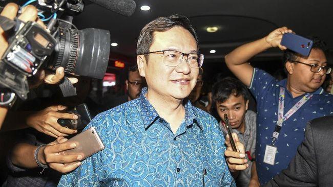 Dua tersangka yang dititipkan ke KPK yakni Mantan Dirut Jiwasraya Hendrisman Rahim dan Komisaris PT Hanson Benny Tjokrosaputro.