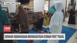 VIDEO: Korban First Travel Diberangkatkan Umrah