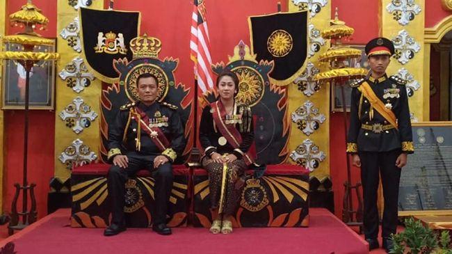 Fanni Amanidia, Ratu Keraton Agung Sejagat disebut dalam kondisi terpukul menjalani proses hukum sebagai tersangka kabar bohong di Mapolda Jateng.