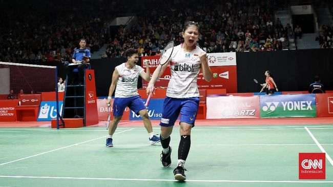 Greysia Polii/Apriyani Rahayu lolos ke final Spanyol Masters 2020 usai mengalahkan Chloe Birch/Lauren Smith (Inggris).