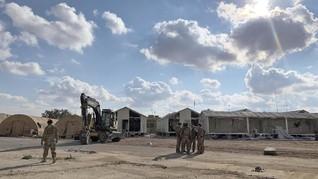Pangkalan Pasukan Koalisi AS di Bandara Irak Diserang Lagi