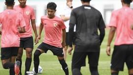 Gelandang Timnas U-19 Beckham Putra Alami Cedera Lutut