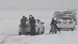 FOTO: Cuaca Buruk Melanda Pakistan dan Afghanistan