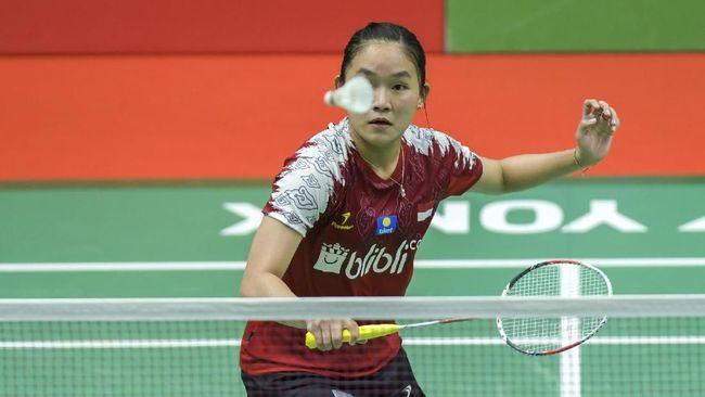 Tim putri Indonesia menang 3-0 atas Filipina pada laga perdana Grup Y Badminton Asia Team Championship 2020.