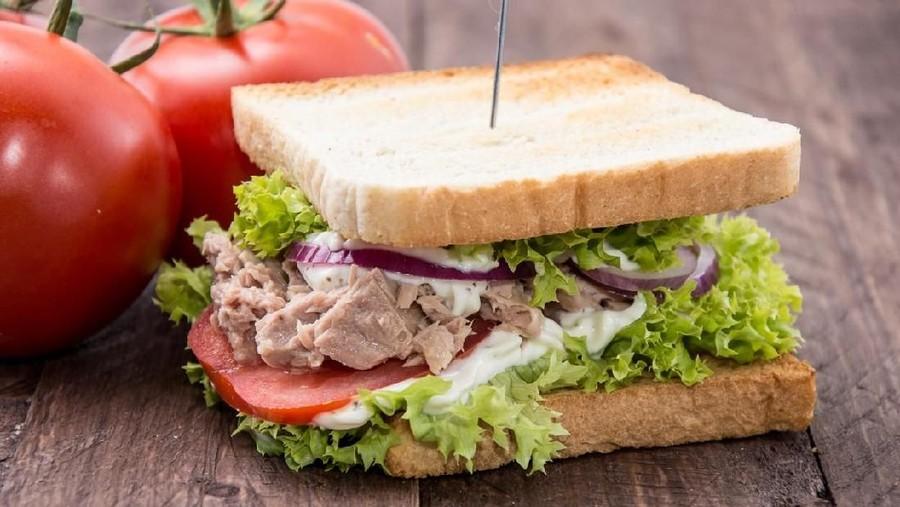Resep Cheesy Tuna Sandwich Ala Restoran