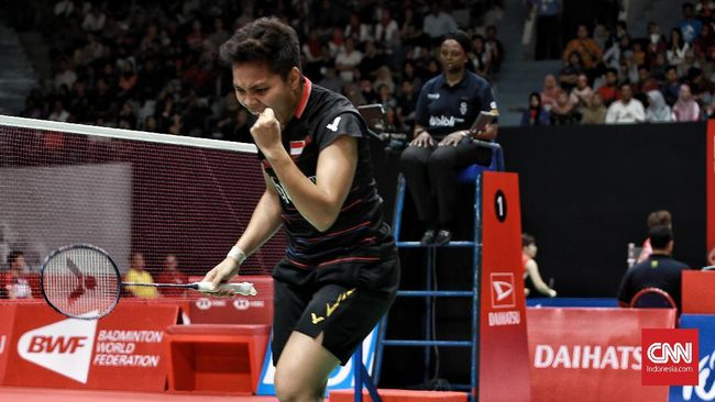 Sistem skor 3x21 pada Badminton dipilih pembaca CNNIndonesia.com sebagai sistem penilaian yang lebih menarik dan seru dibanding sistem skor 5x11.