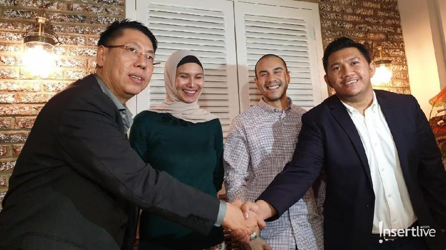 Gathan Saleh Hilabi dan Stefano Tintingon Akhirnya Berdamai