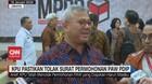 VIDEO: KPU Pastikan Tolak Surat Permohonan PAW PDIP