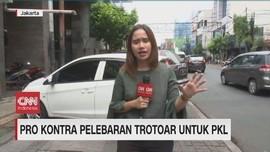 VIDEO: Pro Kontra Pelebaran Trotoar untuk PKL