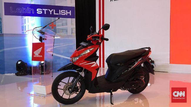 Honda Beat Meluncur Pakai Rangka Dan Mesin Baru