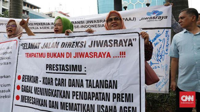 Forum Komunikasi Pekerja Agen Asuransi Jiwasraya mendesak Erick Thohir untuk merombak direksi Jiwasraya.