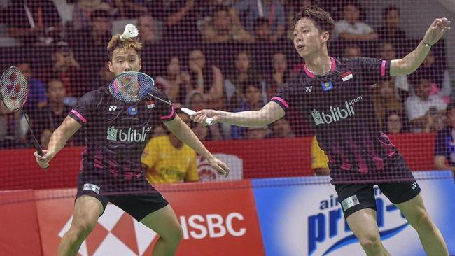 Kevin/Marcus adalah harapan terbesar Indonesia meraih emas Olimpiade Tokyo 2020 bila menghitung peluang di atas kertas.