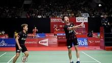 Aksi Tengil Kevin Warnai Babak 32 Besar Denmark Open