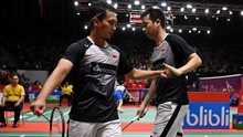 Hasil Toyota Thailand Open: Ahsan/Hendra Gagal ke Final