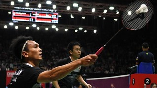 Ahsan/Hendra Lawan Ganda Korea di Semifinal BWF Tour Finals