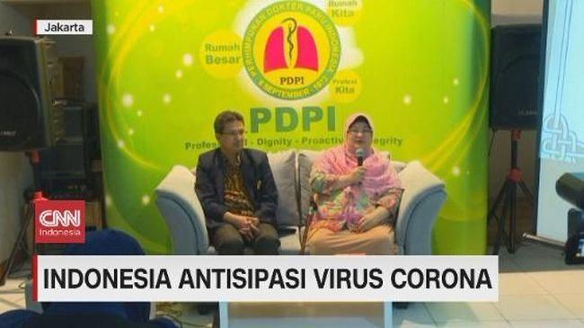 VIDEO: Indonesia Antisipasi Virus Corona